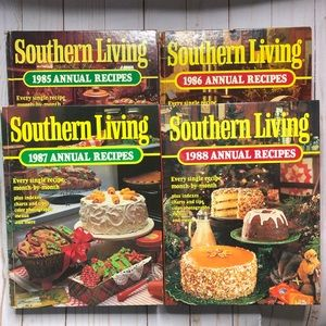 Vintage Southern Living Annual Recipes boo…